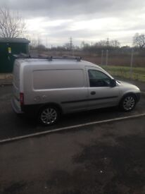 Silver Vauxhall combo