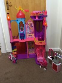 Barbie house with extra accessories
