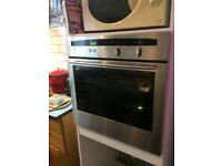 Neff oven and hob with kitchen units. Oven works well , hob ignition fiddly on one burner