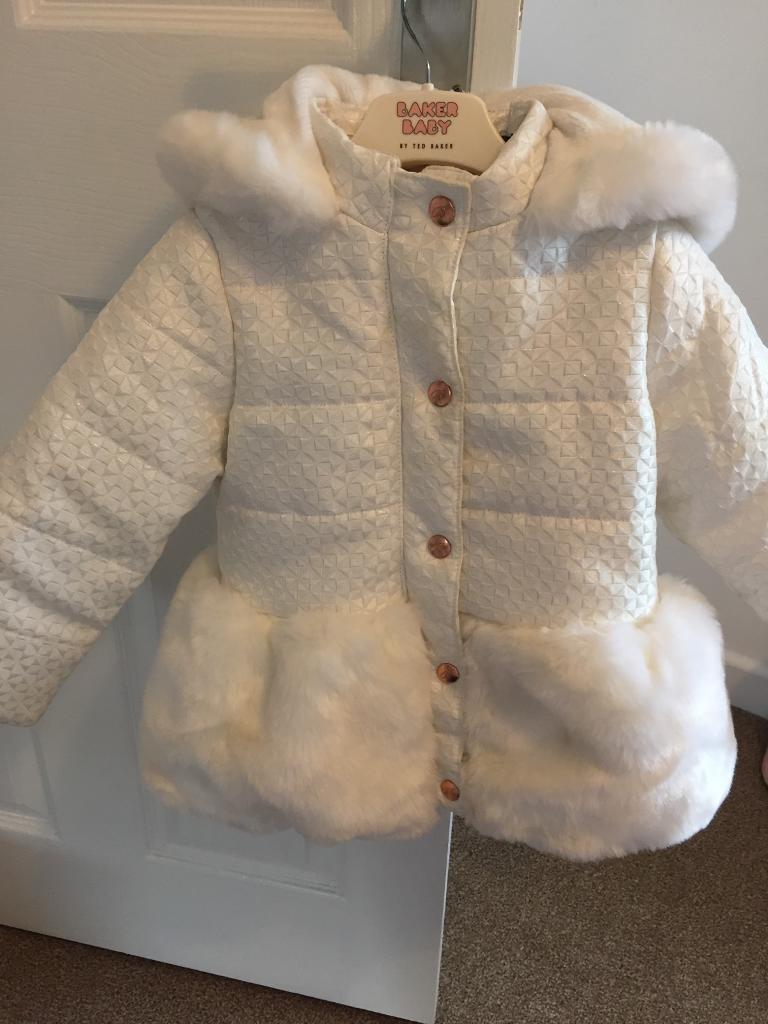 Girls Ted Baker jacket age 2-3