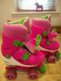 Girls Roller Skates ( Zinc)