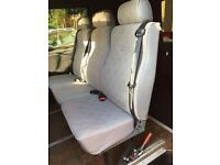 VW t4 3 seats with rails