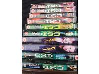 CSI: Crime scene investigation 10 box sets