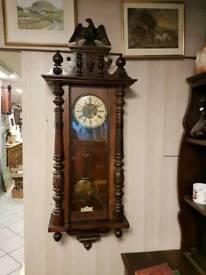 Beautiful Large original antique Vienna Clock