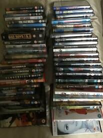 45+ DVD's Action / Family / Comedy / sci-fi PG 12 /15/18 CLEAROUT !!