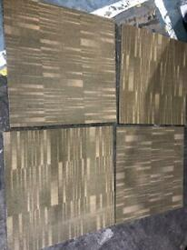 Carpet tiles 75p each 600 = 150m2