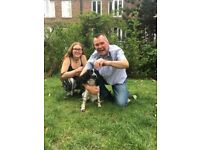 Dog Walkers in Chelsea - father and daughter team
