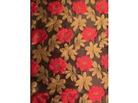 Blind - floral pattern