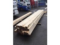 4x4 fenceposts 4.8m