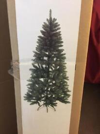 Artificial Christmas tree half