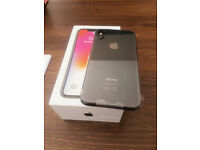 IPHONE X 64GB EE BRAND NEW SPACE GREY ONLY OPENED FOR PHOTOS