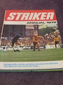 Striker Annual 1972