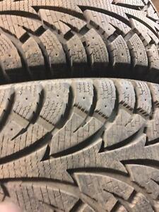 225/70/16 Champira winter tires & rims 5x114.3