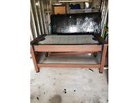 Pool/air hockey table