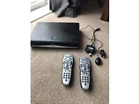 Sky HD wifi with magic eye and 2 remotes
