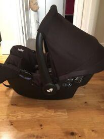 Joie Gemm infant car seat - carbon black