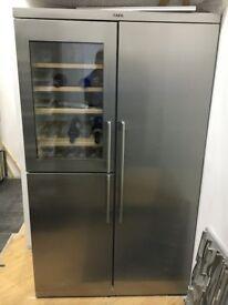 American fridge freezer & wine Cooler AEG PerfektFit™ side-by-side