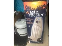 New Waste master and second hand water hog