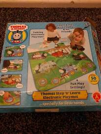 Thomas the tank engine step and learn electronic playmat