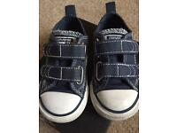 Blue converse size 5 (toddler)