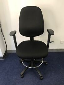 High Back Draughtsman's Chair - specialist ergonomic chair - 2 available