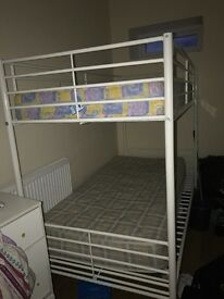 Bunk beds with mattresses need gone