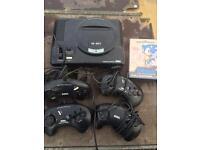 Sega mega drive 1 (retro gaming)
