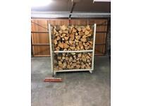 Mobile Log storage basket
