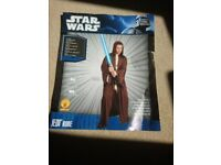 Jedi Robe- dark Brown with Hood suitable fancy dress / Star Wars themed event.