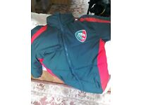 Leicester Tigers boys coat. Never worn.