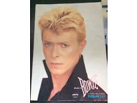 1980's TOUR PROGRAMMES INC DAVID BOWIE SERIOUS MOONLIGHT TOUR