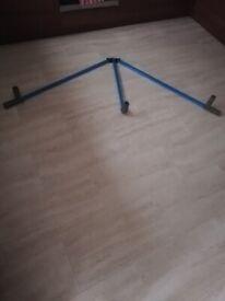 Martial arts leg stretcher