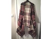 Burberry Cape/poncho brand new with bag (one size)