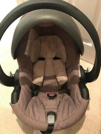 Stokke iZi Go Car Seat by BeSafe Beige with Isofix