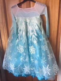 Frozen. Anna and Elsa Disney shop dress up. Age 7-8.