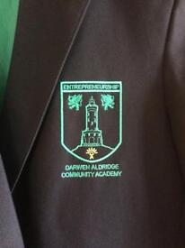 Daca Darwen academy blazer,tie and jumper