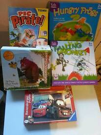 Job lot of family games and puzzles