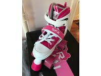 Expandable Girls Roller Skates - Pink SFR Miami