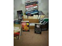38 books . All crime fiction. Excellent condition