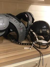 American Football Shoulder Pads and Helmet - NFL