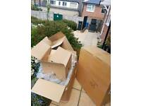 Free sturdy packing boxes