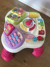 Vtech leaning table