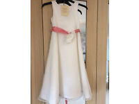 "6 Yr Old Girl John Lewis ""Heirloom Collection"" Bridesmaid Dress Ivory"
