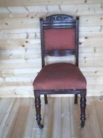 Dining chairs - Antique x 4