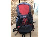 Berghaus travelling rucksack