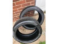 245/35/18 2x Pirelli tyres