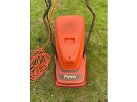 Flymo HV3000 hover lawnmower, 30cm cutting diameter with grass collection box