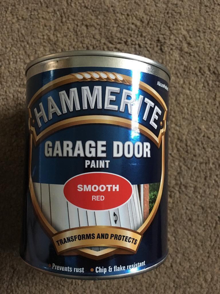 Hammerite Red Garage Door Paint In Beddau Rhondda Cynon Taf Gumtree