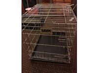 Dog cage medium savic make