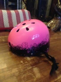 Girls cycling helmet